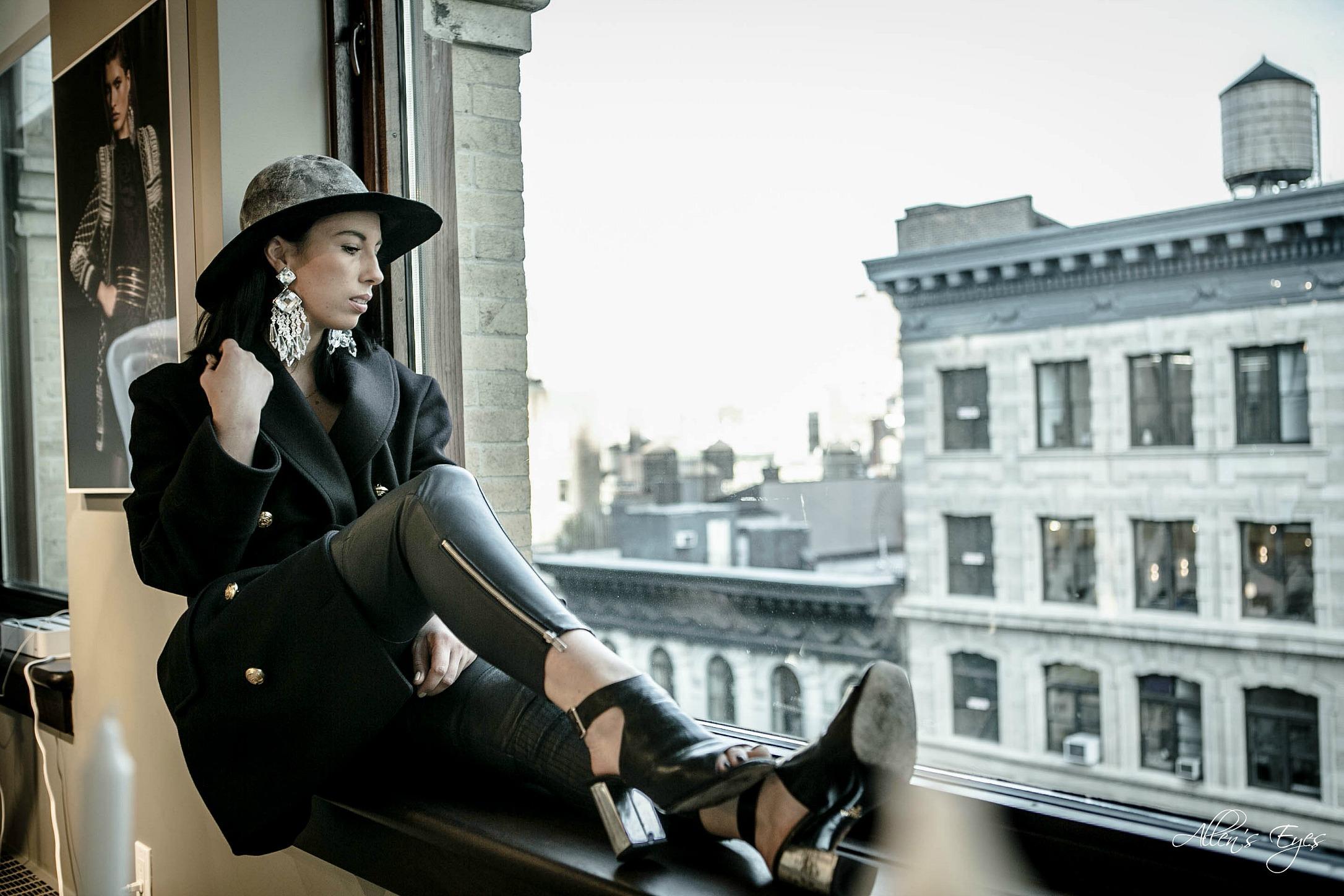 New York Showroom: Balmain x H&M